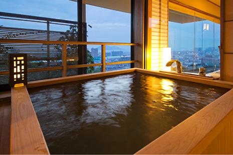 【展望檜風呂付】特別室〜和洋室〜